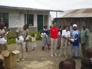 Kenya school girl