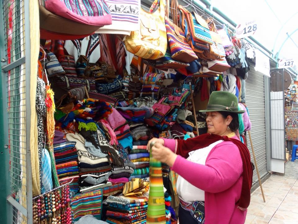Quito shopping 2